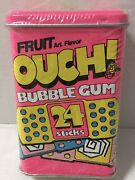 Rare Vintage Amurol 1992 Ouch Fruit Bubble Gum Band-aid Tin Sealed Do Not Chew