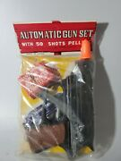Vintage Giant Special Shooter Plastic Toy Automatic Gun Set Rare