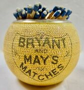 Bryant And May English Match Striker Excellent Vintage Condition