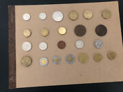 23 Coin Lot Australia, South Africa, Mexico, Euro And More