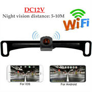 Wifi Wireless Auto Car Rear View Cam Backup Reverse Camera Iphone Android Ios