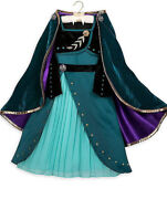 Collection Frozen 2 Anna Costume 4 T With Wig