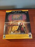 Sony Psp 2000 God Of War Entertainment Pack 64mb Red Handheld System New Openbox