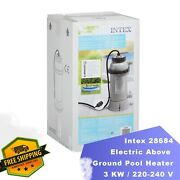Intex 28684 Electric Above Ground Pool Heater 3 Kw / 220 V