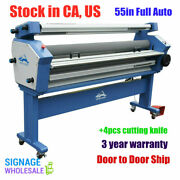 Qomolangma 55 Full-auto Wide Format Cold Laminator Machine With Cutting Knife
