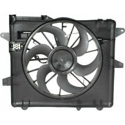 For Ford Mustang Shelby Gt500 A/c Radiator Fan 2007-2013 Fo3115152   Br3z8c607a