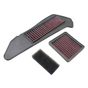 Washable High Flow Air Cleaner Filter Element For Yamaha Xmax 250 300 2018-2021