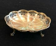 Smith Patterson Co Sterling Silver Candy Footed Dish 63 Gr- Excellent Condition