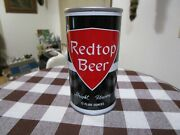 Super Nice Redtop 12 Oz Ss Pull Tab Beer Can Associated Evansville, In. 113/10