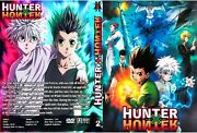 Hunter X Hunter Anime Dvd Episodes 1-148 + 2 Movies Audio Jpn/eng And Eng Subs