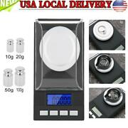 Portable 0.001g Mini Digital Jewelry Scale Pocket Weight Scales Gram Lcd