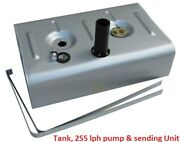 Universal Steel Tank For Efi-tank 340 Lph Pump And Sending Unit -remote Fill