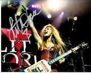 Lita Ford Autograph Signed 8x10 Photo