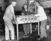 Woodrail Pinball Machine Confiscated Vintage 8x10 Photography Reprint