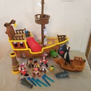 Disney's Jake And The Neverland Pirates Talkin Ship W/ Figures 2011