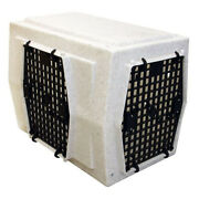 Ruff Land Kennels Intermediate Right -side Entry Double Door Dog Crate