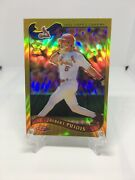 Albert Pujols 2002 Topps Chrome Gold Refractor Rookie Cup Card Sp 160 Rare
