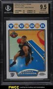 2008 Topps Chrome Refractor Russell Westbrook Rookie Rc 184 Bgs 9.5 Gem