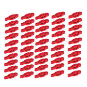 50x Heavy Tension Downriggers Outriggers Snap Weight Clip For Weight Fishing