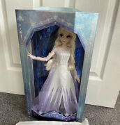 Disney Store Elsa The Snow Queen Limited Edition Doll 17 Brand New