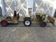 Vintage 1961 Bolens 233 Ride - A - Matic Lawn And Garden Tractor Many Attachments