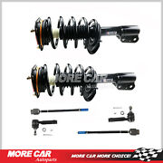 2x Front Strut Spring Shock Inner Outer Tie Rod End Fit 04-11 Chevrolet Impala
