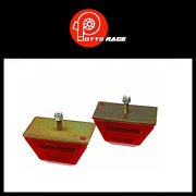 Energy Suspension Bump Stops Red Low Profile Competition Universal-9.9109r