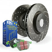 Ebc Front Brake Kit S3 Greenstuff 6000 - Dp61614 And Gd7380 Sold As Kit