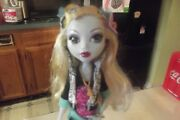 Monster High 1st Wave Doll Lagoona Blue With Fins-doll Stand-brush-diary