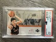 2002 - 03 Ud Glass Rookie Auto Focus Yao Ming Ym Psa 9 Upper Deck Rc