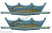 Crownline Vintage Boat Remastered Stickers 10x 3 Each