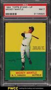 1964 Topps Stand-up Mickey Mantle Psa 7 Nrmt