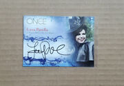 Cryptozoic Once Upon A Time Lana Parrilla Autograph Card Regina Mills/evil Queen
