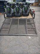 Lot Of 10 Ego Power+ 21-inch Select Cut Mower W/ Self-propelled Tools Only.