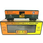 30-74395 Mth Great Northern Rounded Roof Box Car W/generator 39406