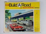 Vintage 1967 Matchbox Super Build A Road Playset In Box. Great Condition.