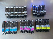 Lot Of 40 Empty Genuine Oem Canon Ink Cartridges 250 Xl / 251 8 Sets Of 5