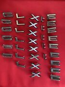 Nos Oem Fomoco 1966 Ford Galaxie 35 Letters Lot