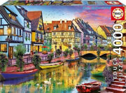 Educa France Colma Canal Scenery 4000 Piece Adult Decompression Puzzle Toys New