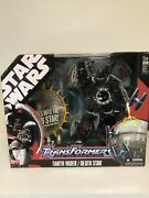 Star Wars Transformers Cross Over Toys All Misb