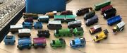 Thomas The Tank Engine Wooden Train Cars 31 Cars In All