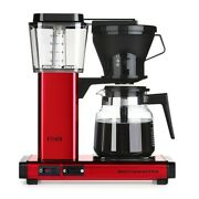 Technivorm Moccamaster 10 Cup Coffee Maker Metallic Red