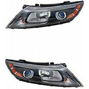 Fits 2006-2010 Toyota Sienna Hid Headlight Pair To2502175+to2503175