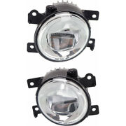 For Infiniti Q50 Fog Light 2014-2017 Pair Lh And Rh Side In2592108 + In2593108