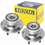 Moog Front Wheel Bearing And Hub Assembly Pair For 1994-1999 Dodge Ram 1500 4wd