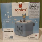 Toniebox Starter Set - Light Blue And Creative Tonie For Boys And Girls 10001
