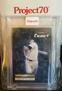Topps Project 70 Mickey Mantle Artist Proof 7/51 Shoe Surgeon Jersey Number 1/1
