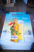 Edelweiss Style B 4x6 Ft Bus Shelter Original Alcohol Beer Advertising Poster