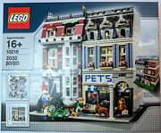 Lego Creator Pet Shop 10218 - New Sealed In Box