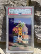 2019-20 Panini One And One Downtown 17 Anthony Davis Lakers Psa 10 Gem Mint